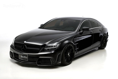 Mercedes CLS Black Bison в тюнинге Wald International